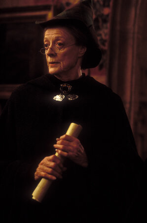 Maggie Smith in Harry Potter and the Chamber of Secrets (2002)