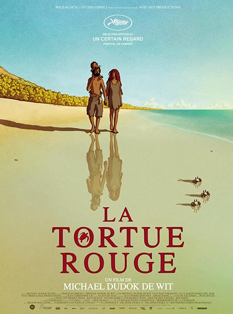 The Red Turtle filmposter