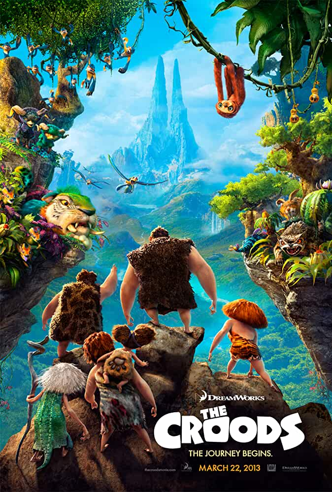 The Croods 2013 Hindi Dual Audio 480p BluRay 300MB