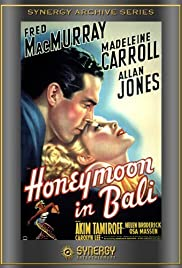 Honeymoon in Bali Poster