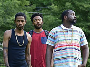 "Lakeith Stanfield, Donald Glover, and Brian Tyree Henry in ""Atlanta"""
