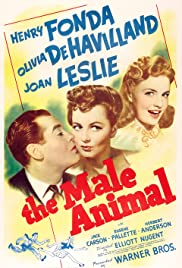 The Male Animal (1942) Poster - Movie Forum, Cast, Reviews