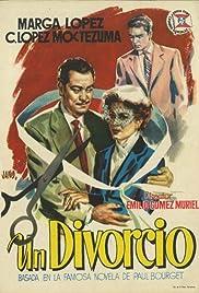 Un divorcio Poster