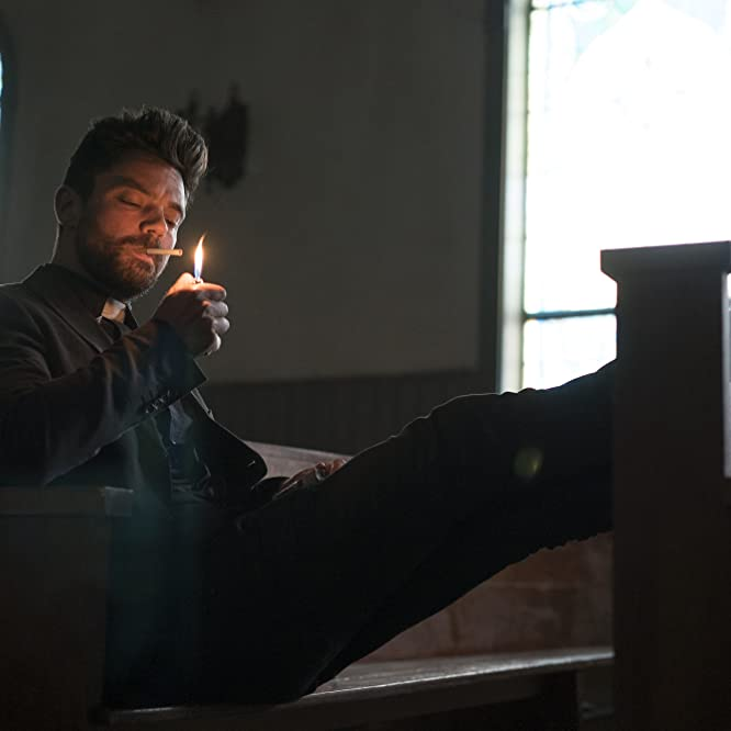 Dominic Cooper in Preacher: Pilot (2016)