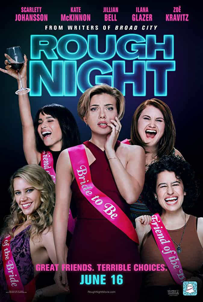 Poster Rough Night 2017 Full English Movie Download 720p