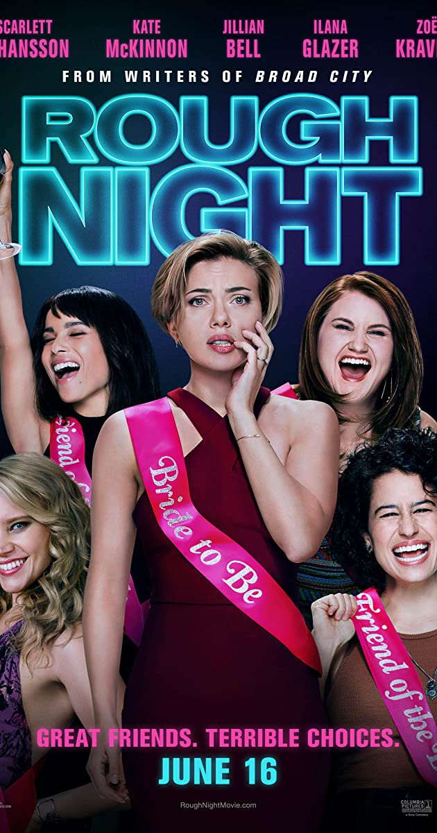 Mergų balius / Rough Night (2017) Online