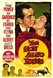 The Sun Also Rises (1957) Poster - Movie Forum, Cast, Reviews