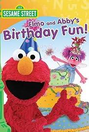 Elmo and Abby's Birthday Fun Poster