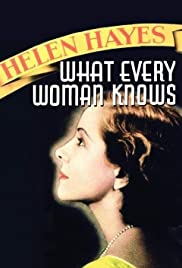 What Every Woman Knows (1934) Poster - Movie Forum, Cast, Reviews