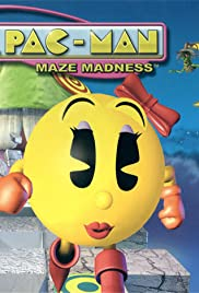 Ms. Pac-Man Maze Madness Poster