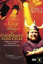 Sing Faster: The Stagehands' Ring Cycle Poster
