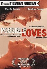 Amores Possíveis(2001) Poster - Movie Forum, Cast, Reviews