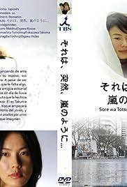 Sore wa, totsuzen, arashi no you ni... Poster