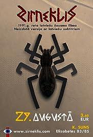Zirneklis Poster