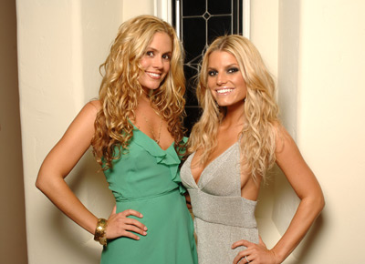 Jessica Simpson and Cacee Cobb