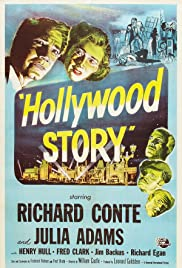 Hollywood Story (1951) Poster - Movie Forum, Cast, Reviews