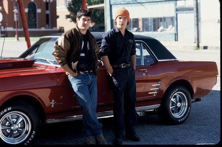 Kevin (Derek Alvarado) and Matt (Gabriel Marantz) on the set of