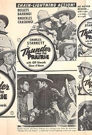 Thunder Over the Prairie Poster
