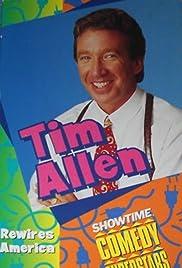 Tim Allen Rewires America Poster