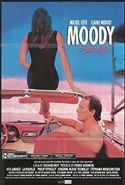 Moody Beach Poster