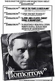 Tomorrow(1972) Poster - Movie Forum, Cast, Reviews