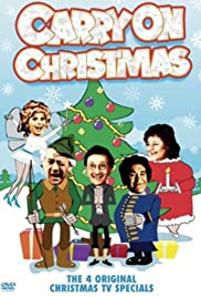 Carry on Again Christmas Poster