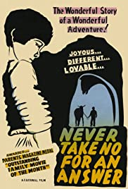 Never Take No for an Answer Poster