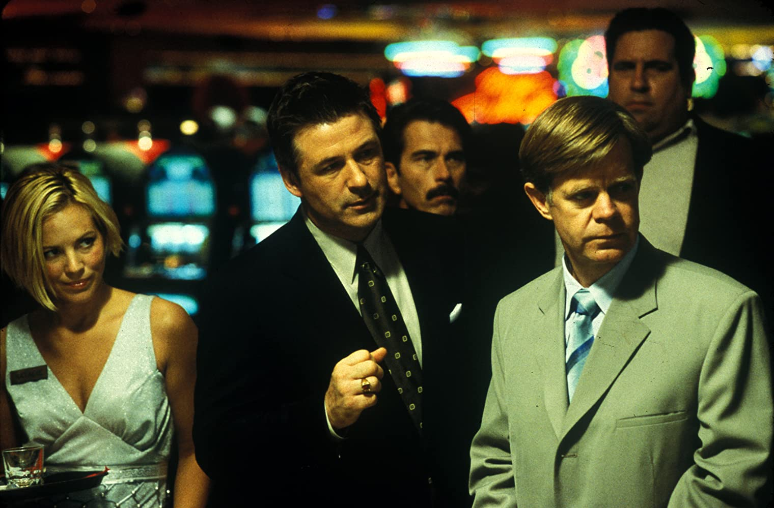 Alec Baldwin, William H. Macy, and Maria Bello in The Cooler (2003)