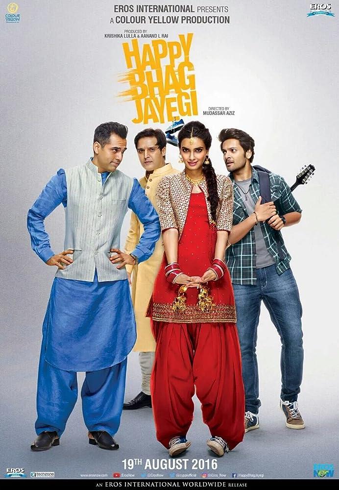 Happy Bhag Jayegi 2016 720p HDRip Watch Online Free Download at movies365