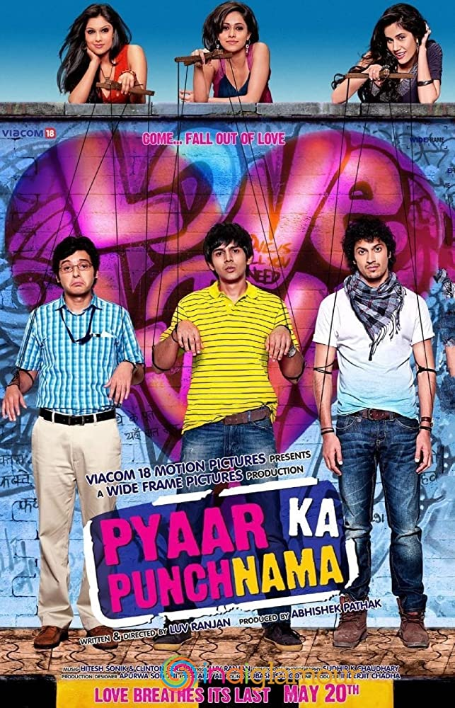 Pyaar Ka Punchnama 2011 Full Hindi Movie 720p WebHD ESub