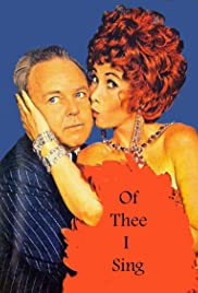 Of Thee I Sing Poster