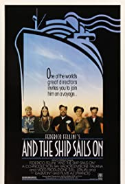 And the Ship Sails On Poster