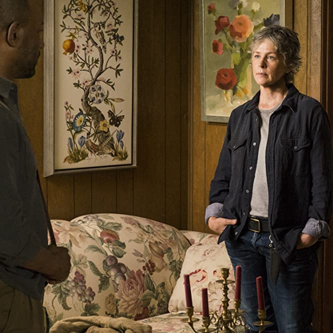 Lennie James and Melissa McBride in The Walking Dead (2010)