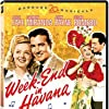 Carmen Miranda, Cesar Romero, Alice Faye, and John Payne in Week-End in Havana (1941)