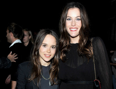 Liv Tyler and Ellen Page