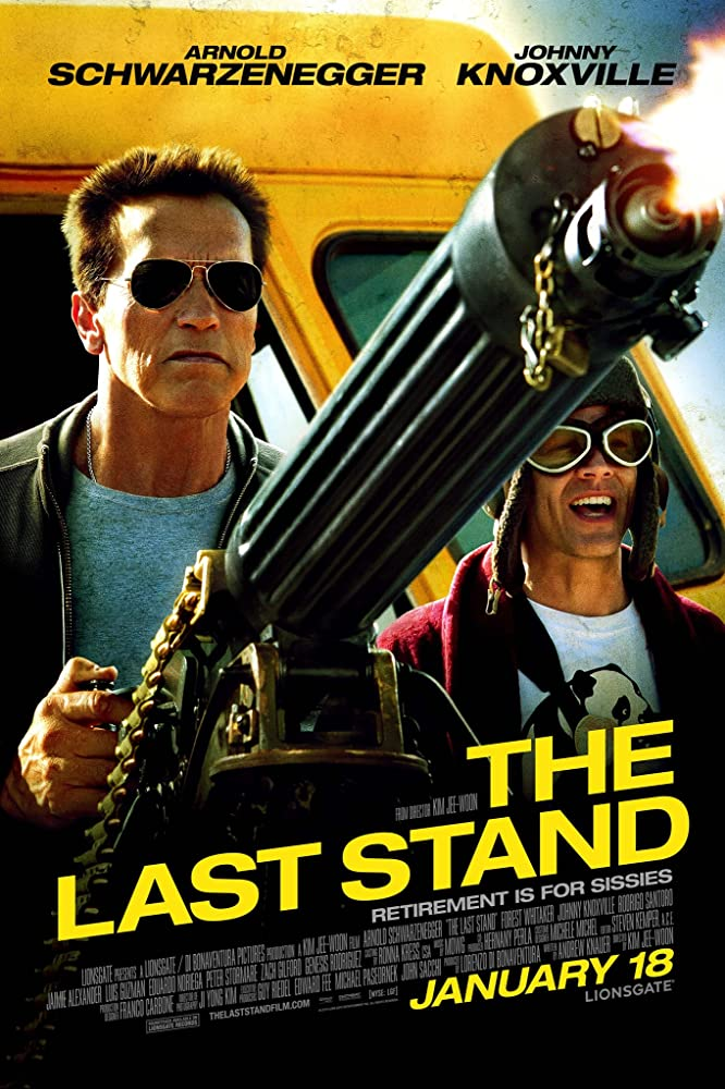 The Last Stand cartel de la película