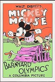 Barnyard Olympics Poster