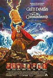 The Ten Commandments film poster