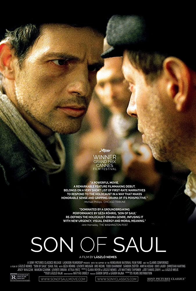 Son of Saul poster do filme