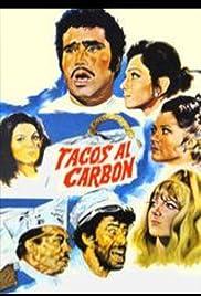 Tacos al carbón Poster