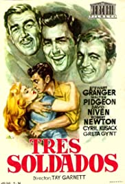 Soldiers Three (1951) Poster - Movie Forum, Cast, Reviews