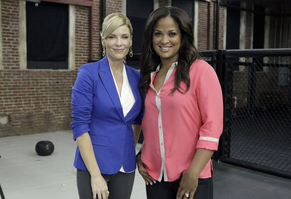 McKenzie Westmore and Laila Ali in Face Off (2011)