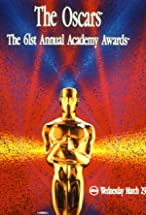 Primary image for The 61st Annual Academy Awards