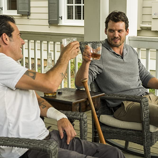 Jeffrey Dean Morgan y Austin Nichols en The Walking Dead (2010)
