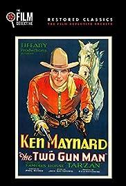The Two Gun Man Poster