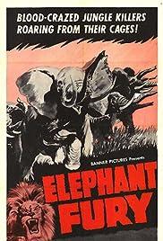 Elephant Fury Poster