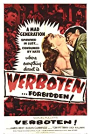 Verboten! (1959) Poster - Movie Forum, Cast, Reviews