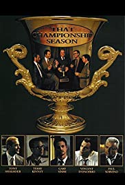 That Championship Season (1999) Poster - Movie Forum, Cast, Reviews