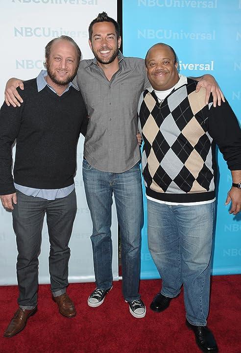 Scott Krinsky, Mark Christopher Lawrence, and Zachary Levi