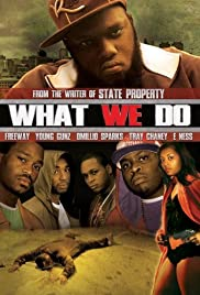What We Do Poster